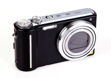 stock image of  compact digital camera