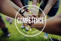 stock image of  competence skill ability expertise performance concept