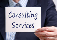 stock image of  consulting services