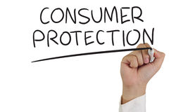 stock image of  consumer protection