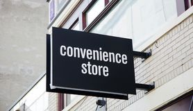 stock image of  convenience store