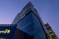 imagine stock despre  corporative moderne arhitectura clădiri bucuresti poarta turn