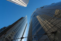 stock image of  corporate office buildings reflections