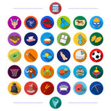 stock image of  cosmetology, history, ecology and other web icon in flat style., cinema, leisure, hobbies icons in set collection.