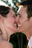 stock image of  couple laughing