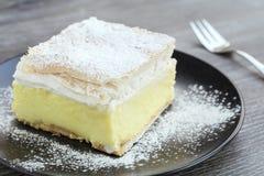 stock image of  cream cake
