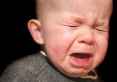 stock image of  crying baby
