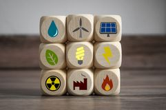 stock image of  clean energy climate change concept