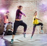 stock image of  dance workout