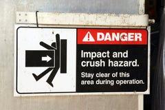 stock image of  danger sign