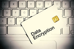 stock image of  data encryption concept