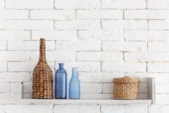 stock image of  decorative shelf