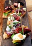 stock image of  delicious spanish tapas