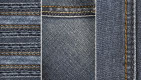 stock image of  jeans fabric