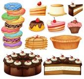 stock image of  desserts