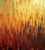 stock image of  digital painting abstract rustic flame with different shades of yellow, red and brown colors background