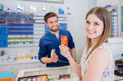 stock image of  discount card is very useful