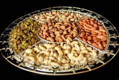 stock image of  dry fruits