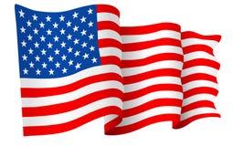 stock image of  usa american flag