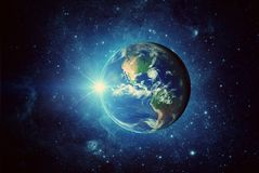 stock image of  earth, sun, galaxy and space. elements of this image furnished by nasa