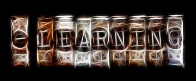 stock image of  elearning concept