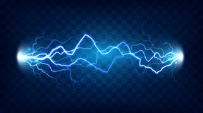 stock image of  electric discharge shocked effect for design. power electrical energy lightning or electricity effects isolated vector