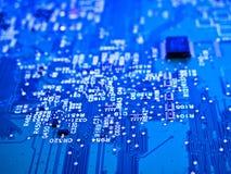 stock image of  electronic circuit