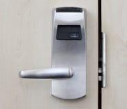 stock image of  electronic door