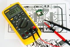 stock image of  electronics prototyping