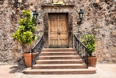 stock image of  elegant entrance