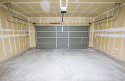stock image of  empty garage
