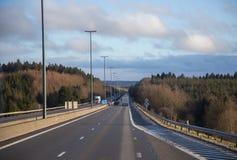 stock image of  empty highway