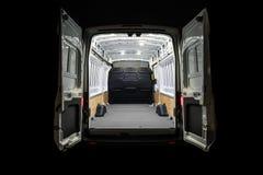 stock image of  empty van