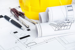 stock image of  engineer workplace