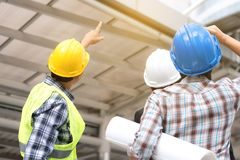 stock image of  engineering construction concept : professional engineer team me