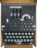 stock image of  enigma encryption machine