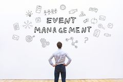 stock image of  event management concept