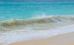 stock image of  exotic waves in cape verde