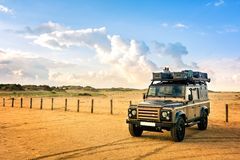 stock image of  expedition vehicle