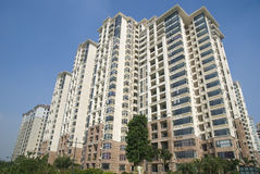 stock image of  exterior of the apartments