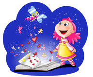 stock image of  fairy tales book