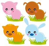 stock image of  farm animals