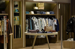 stock image of  fashion store