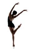 stock image of  female ballet dancer