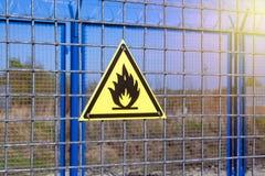 stock image of  fire danger