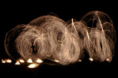 stock image of  fire show