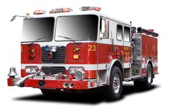 stock image of  fire truck