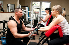 stock image of  fitness club