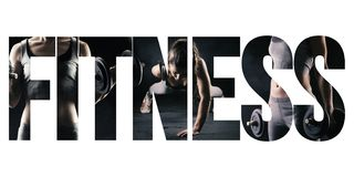 stock image of  fitness, healthy lifestyle and sport concept