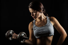 stock image of  fitness woman